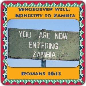 Whosoever Will Stephens Family Ministering in Zambia